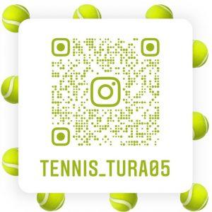 Instagram Nametag der Tennisabteilung