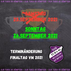 Read more about the article Neuer Termin für die Finals der Vereinsmeisterschaften 2021